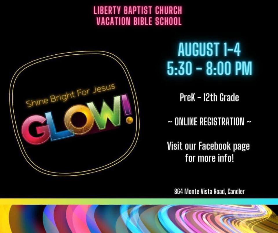 VBS August 1-4